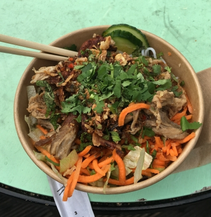 My Bun rice noodle pot - Ross ate his baguette before I could snap a pic!