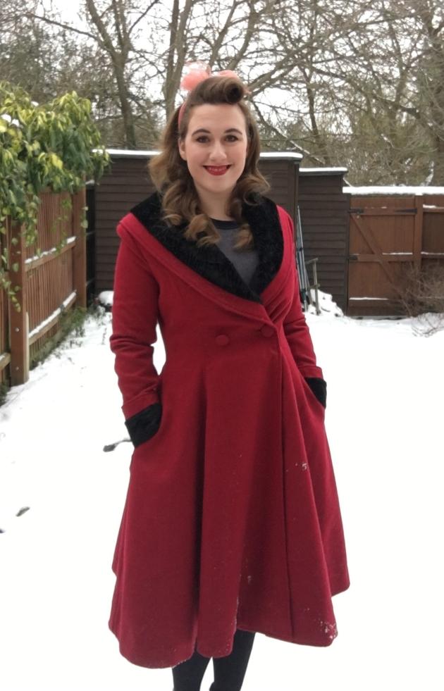 Hell Bunny Vivien Coat