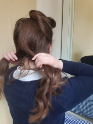 Sectioning hair