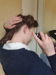 Lots of hairspray!