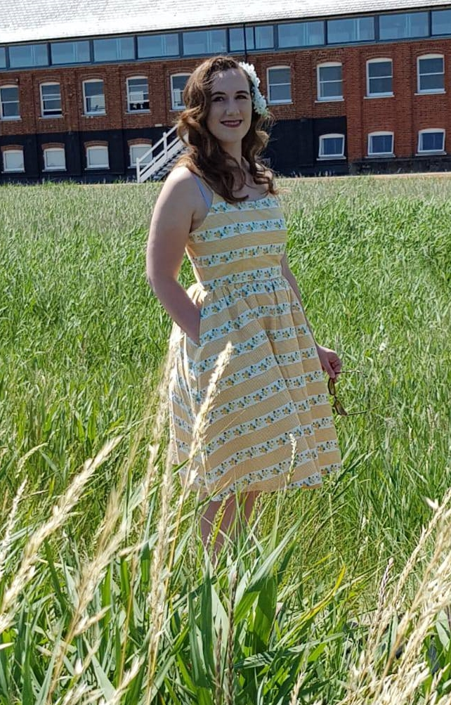 Joanie Clothing - Sunday Floral Stripe Sun Dress