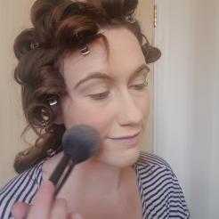 Softening the blush slightly!