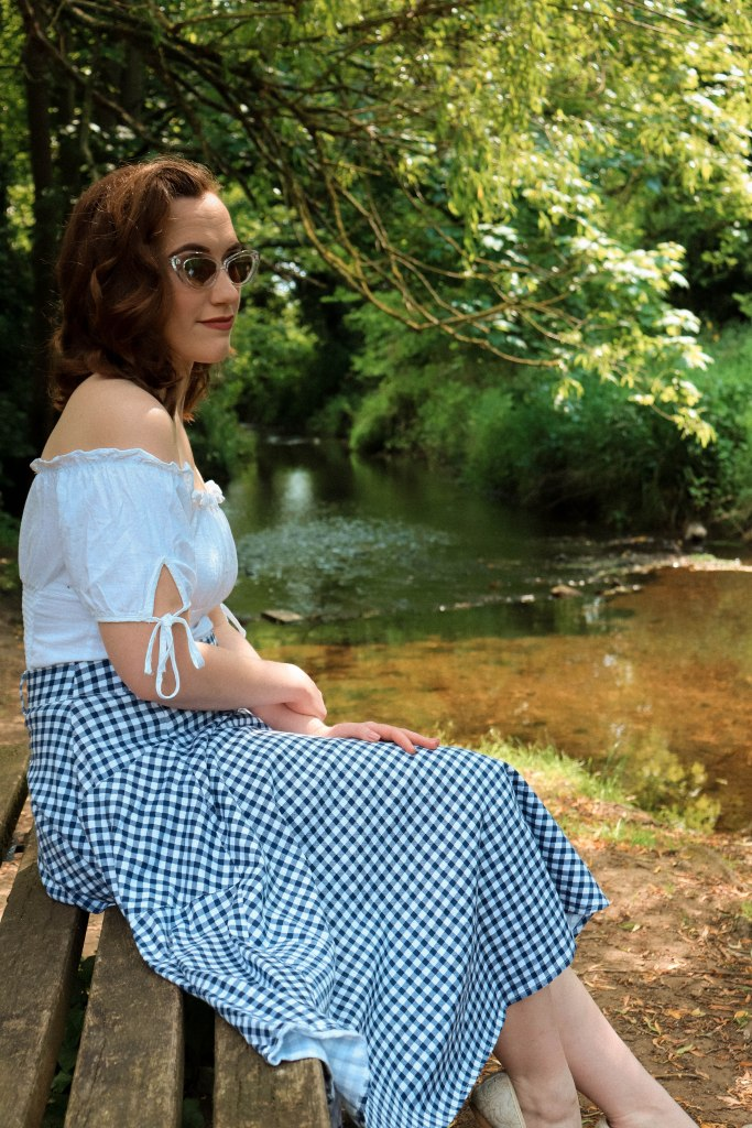 Vintage Summer Lookbook - Gingham