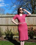 CHC Vintage Pink Knit Dress