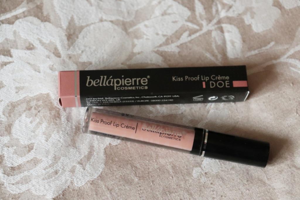 Bellapierre Kiss Proof Lip Crème  (Birchbox vs Glossybox)