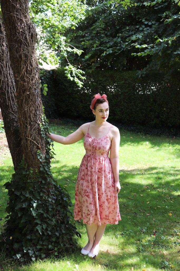 New Look Palm Tree Sun Dress