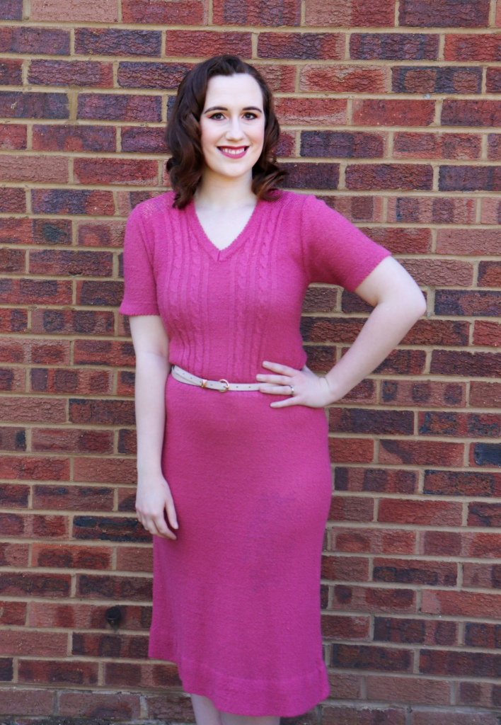 CHC Vintage Rose Knit Dress