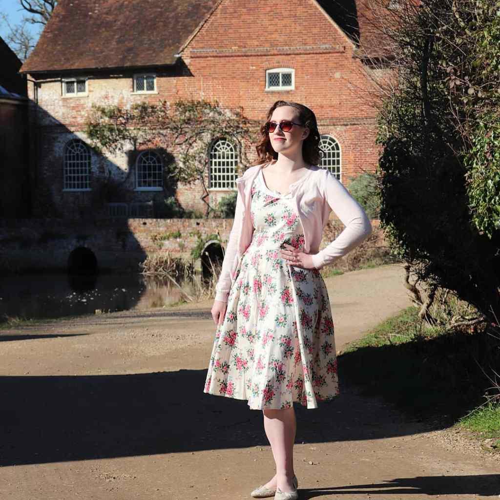 Vintage Summer Lookbook - Floral dress
