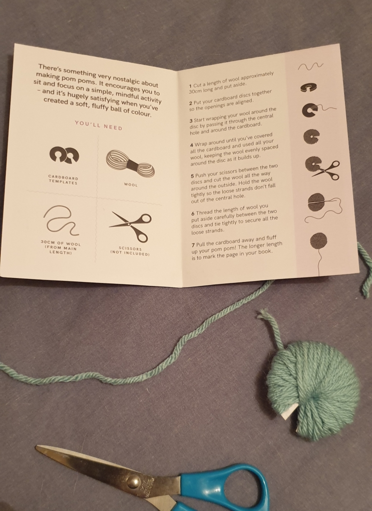 Making the bookmark
