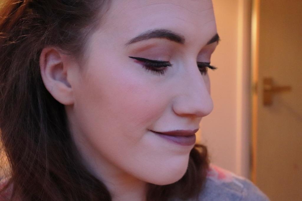 The March Glossybox makeup look  (Birchbox vs Glossybox)